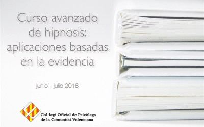 Curso avanzado de hipnosis en Valencia 2018