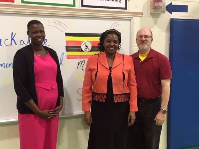 Uganda Day at Tuckahoe Elementary