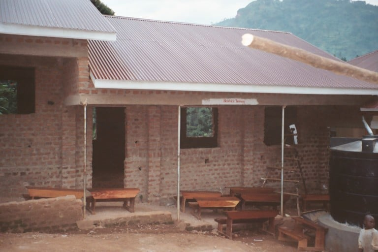 classrooms under construction