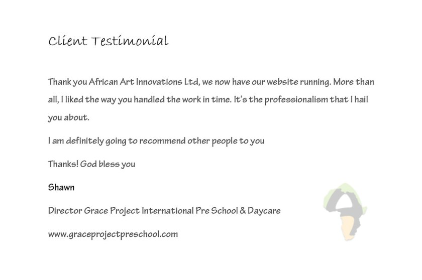 Client's Satisfaction