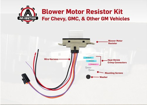 small resolution of aa ignition products 1 new blower module