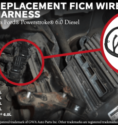 the term ford powerstroke and other vehicle models are used only to identify the vehicles this wire harness fits  [ 1200 x 678 Pixel ]