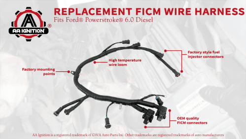 small resolution of the term ford powerstroke and other vehicle models are used only to identify the vehicles this wire harness fits