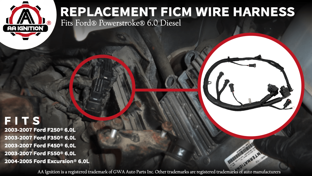 hight resolution of the term ford powerstroke and other vehicle models are used only to identify the vehicles this wire harness fits