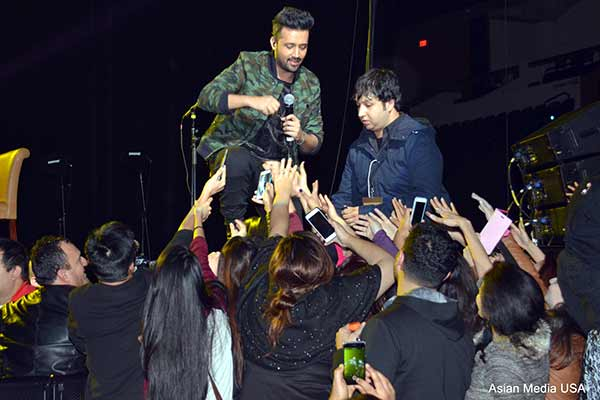 Image result for atif aslam at show