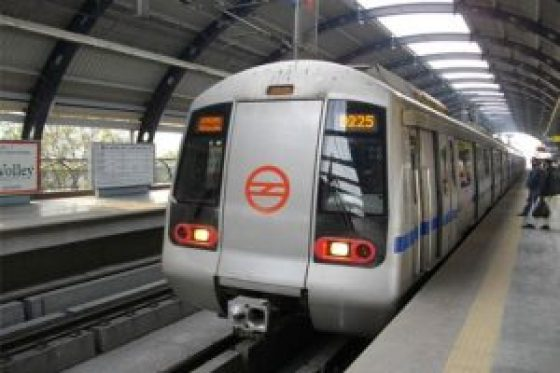 passengers are worried as delhi metro is running late