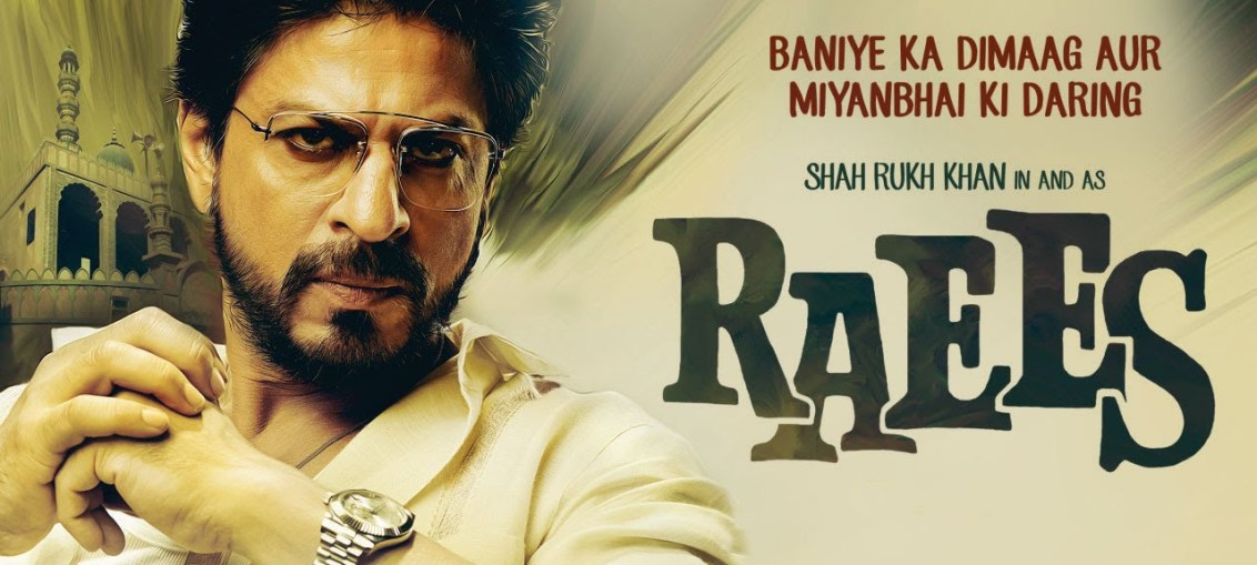 shahrukh khan launched raees trailer