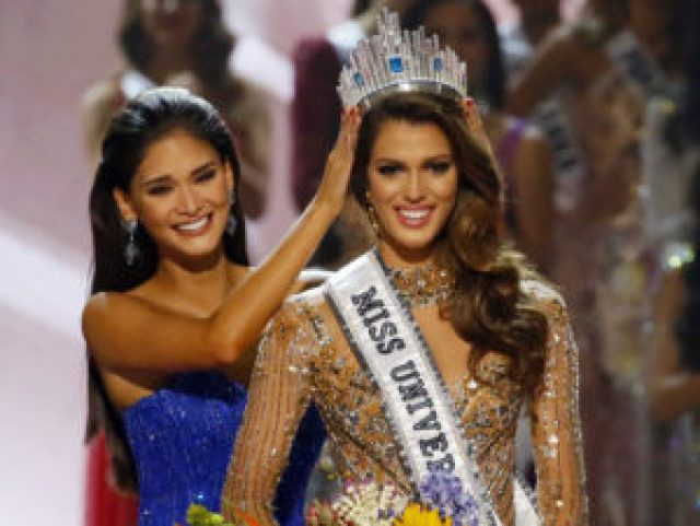 iris mittenaere of france became miss universe 2017