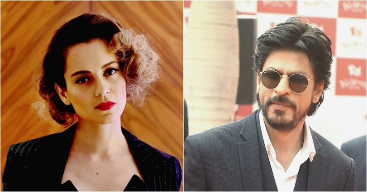 srk told about the false rumour that he will not work with kangana ranaut