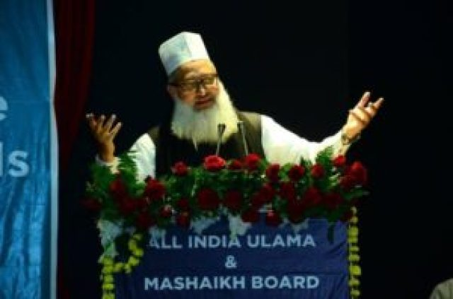 maulana syed mohammad ashraf said that it would be better if the problem of babri masjid is solved through negotiation