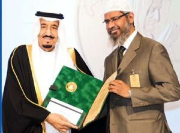 king salman give dr zakir naik citizenship of saudi arabia