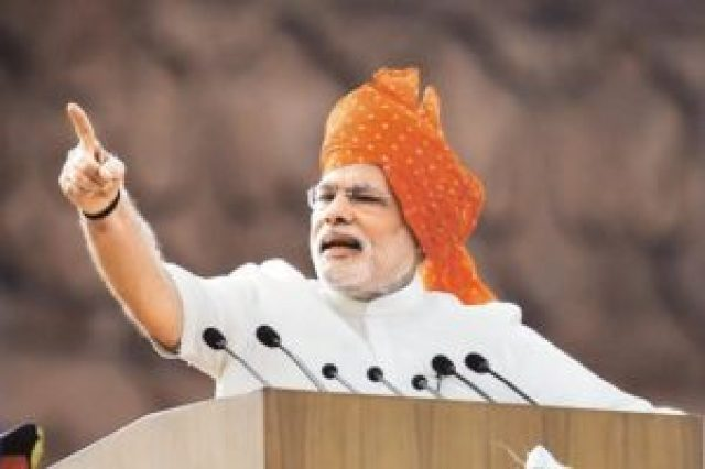 narendra modi tells lies before becoming prime minister of india