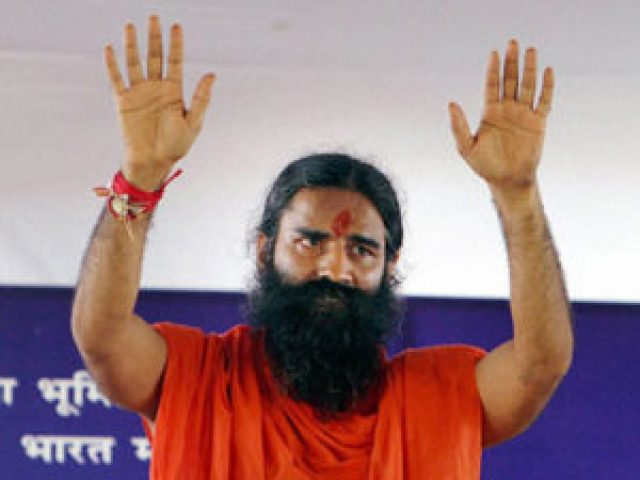 protest against baba ramdev in jodhpur