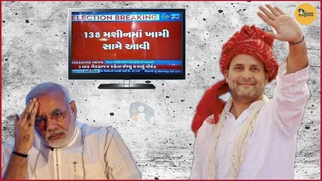 vvpat machine faulty gujarat गुजरात elections