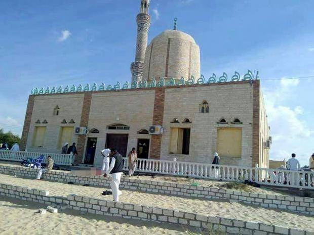 attack on sinai mosque in egypt मिस्र