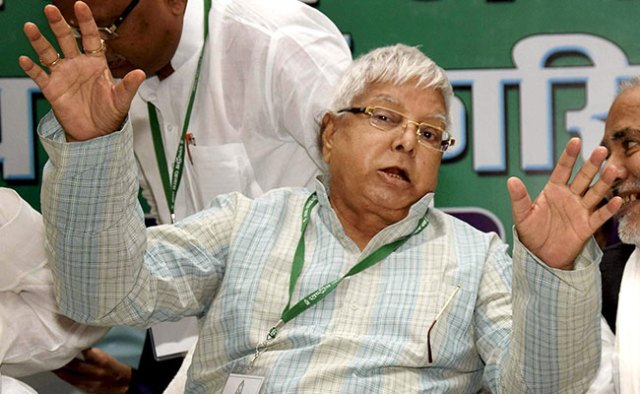 People More Scared Of Cow Than Lion Now: lalu yadav लालू यादव