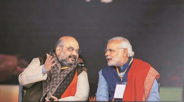 Image result for narendra modi and amit shah