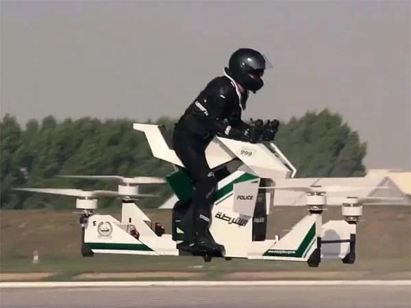 flying bike in dubai दुबई पुलिस
