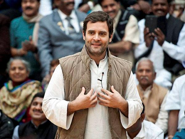 Image result for rahul gandhi with public
