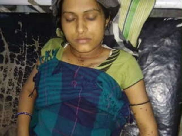girl body bleeding खून without injury