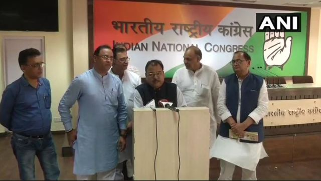 abhay mishra joins congress
