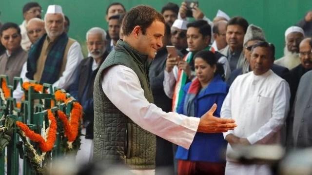 Image result for congress win in mungaoli rahul gandhi