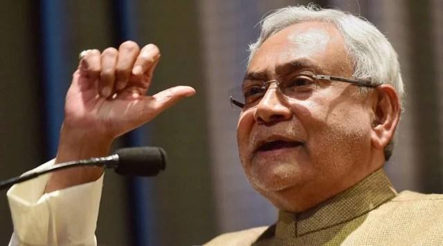 nitish kumar नीतीश कुमार targets modi govt regarding demonetisation