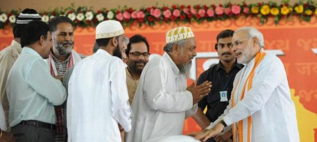 Image result for narendra modi meets bohra samaj