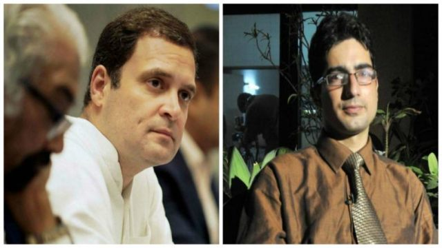 Image result for shah faisal and rahul gandhi together