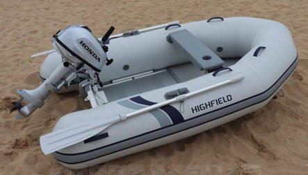 Highfield Aluminium Floorboard  250AL
