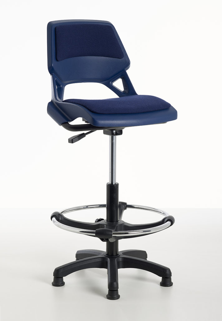 upholstered posture chair hanging swing with stand sao paulo shell for schools and the workplace - excellent good