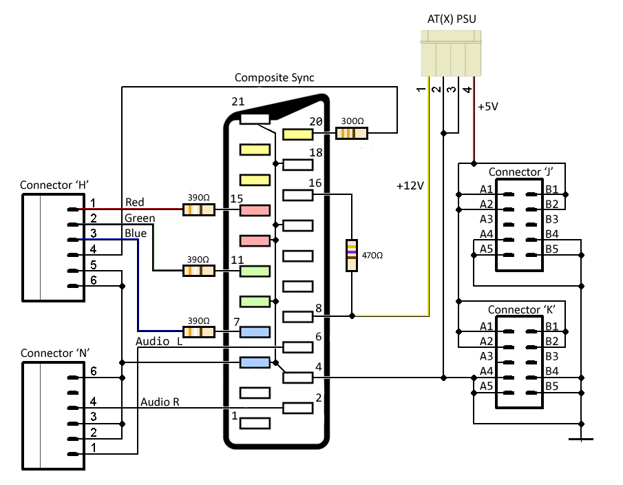 Arcade Power Supply Wiring Diagram : 34 Wiring Diagram
