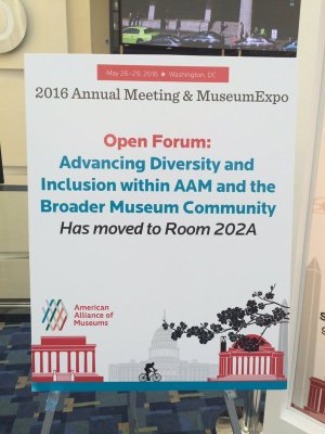 Open Forum: Advancing Diversity and Inclusion within AAM and the Broader Museum Community