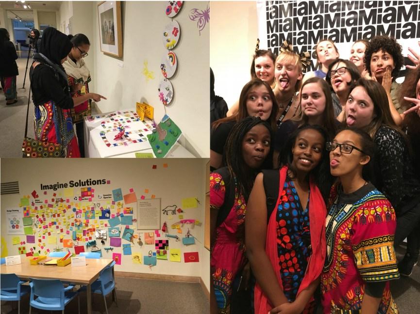 Collage of Kenyan and Minneapolis Girls