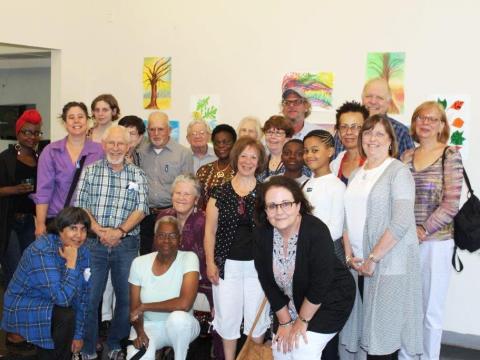 •Newark Museum Landscape Painting class exhibition with Susan Hoenig.