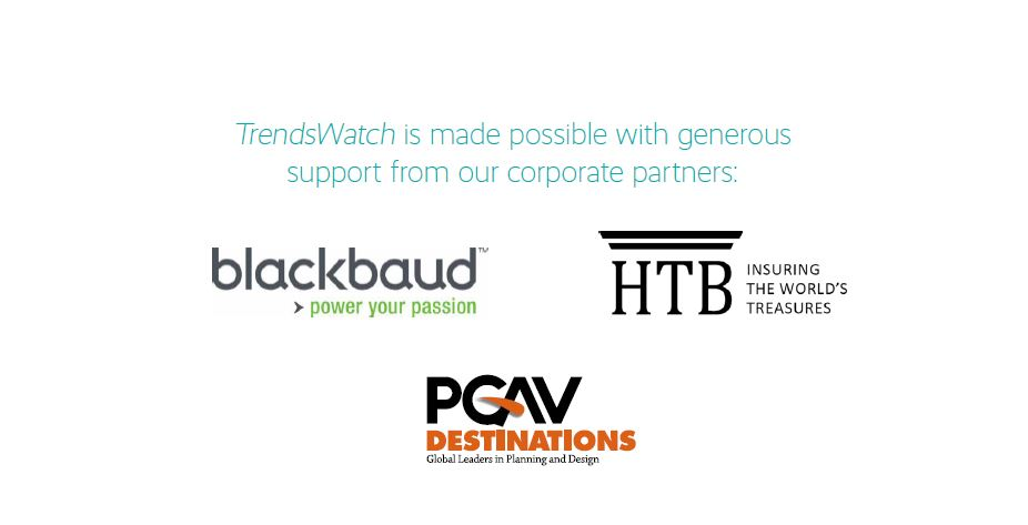 Blackbaud, HTB and PGAV Destinations logos