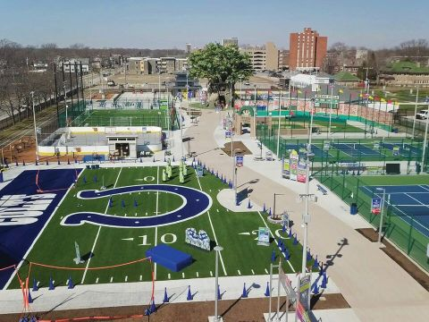 Riley Children's Health Sports Legends Experience is a 7.5-acre park that looks at health and fitness through the lens of sports.