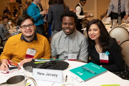 Three New Jersey advocates participate in Museums Advocacy Day.