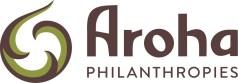 Logo for Aroha Philanthropies