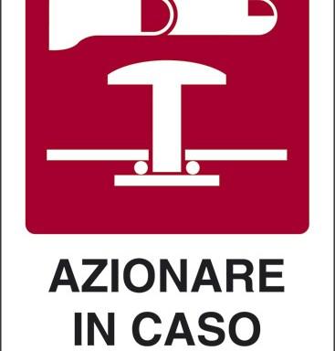 AZIONARE IN CASO DI INCENDIO
