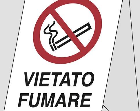 polionda (bifacciale) VIETATO FUMARE