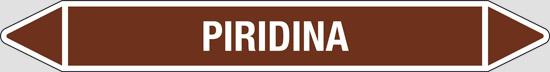 PIRIDINA (oli minerali, oli vegetali e oli animali, liquidi combustibili e/o infiammabili)