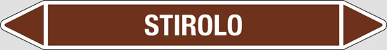 STIROLO (oli minerali, oli vegetali e oli animali, liquidi combustibili e/o infiammabili)