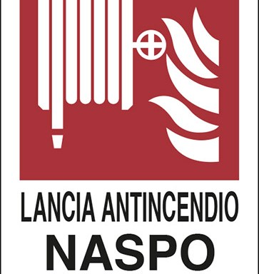 LANCIA ANTINCENDIO NASPO N°
