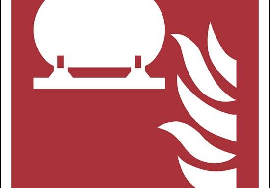 (serbatoio fisso antincendio – fixed fire extinguishing installation)
