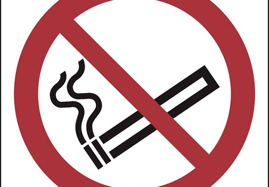 (vietato fumare – no smoking)