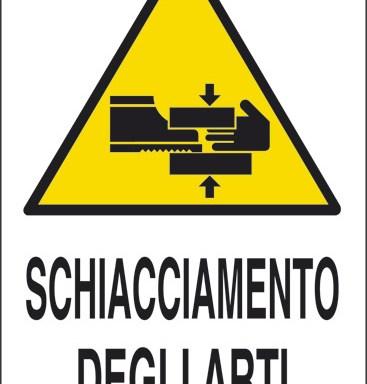 SCHIACCIAMENTO DEGLI ARTI