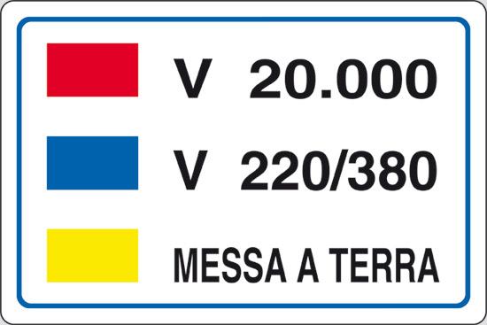 V 20.000 V 220/380 MESSA A TERRA