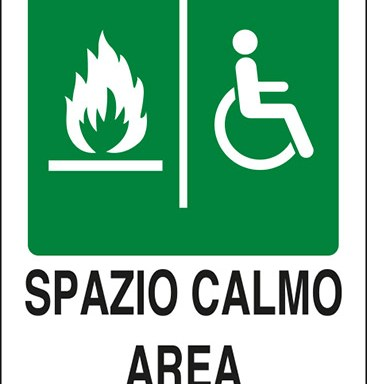 SPAZIO CALMO – AREA OF REFUGE