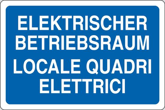 ELEKTRISCHER BETRIEBSRAUM LOCALE QUADRI ELETTRICI